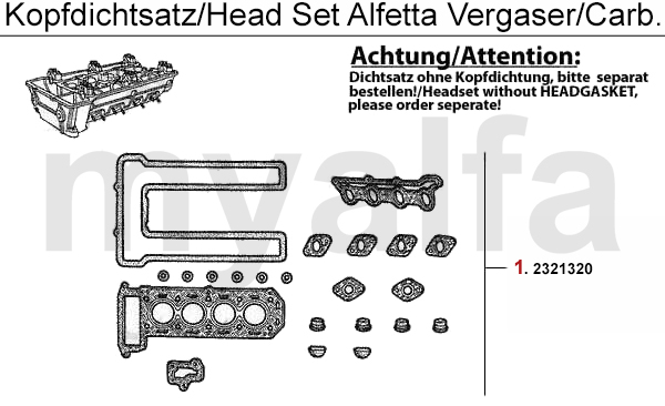 HEADGASKET SET