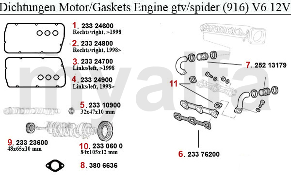 alfa romeo gtv engine diagrams