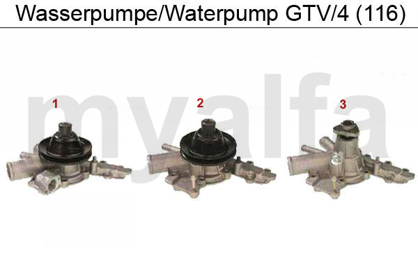 WATERPUMP GTV/4