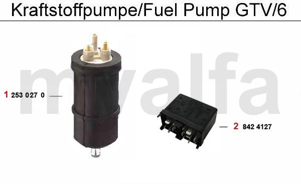 FUEL PUMP GTV/6