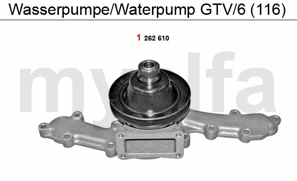 WATERPUMP GTV/6