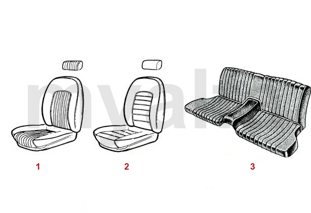 SEAT COVERS 1966-89
