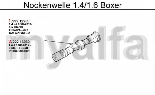 Nockenwelle