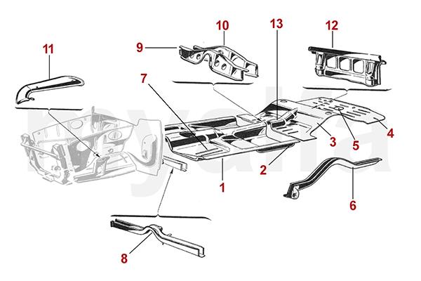 Rahmen / Boden 1