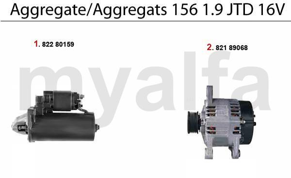 Aggregate 1.9 JTD 16V
