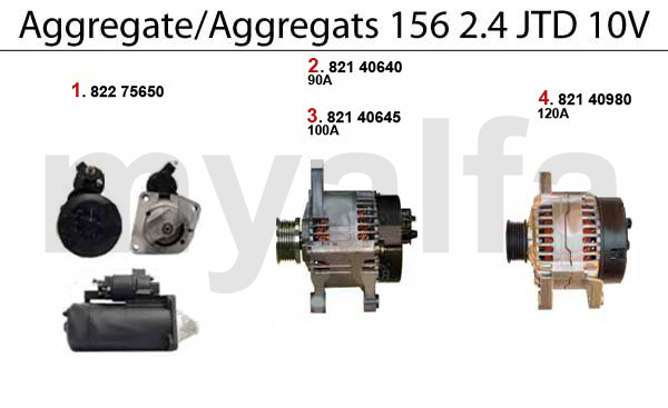 Aggregate 2.4 JTD 10V