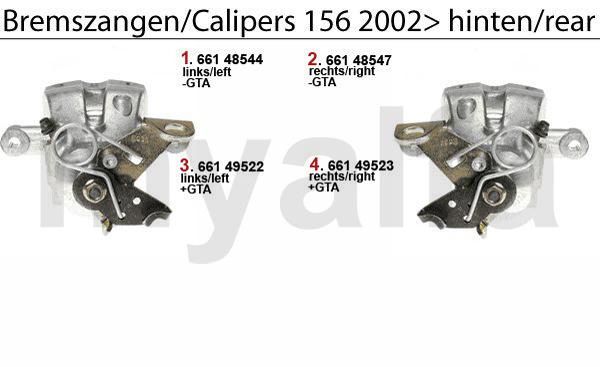CALIPER 2002> REAR