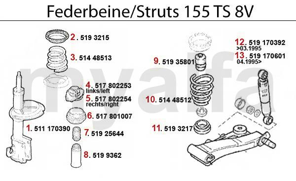 STRUT TS 8V