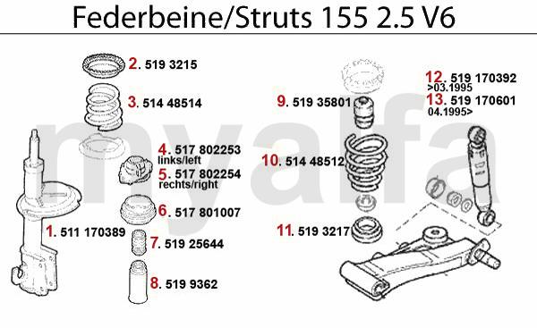 Federbein 2.5 V6