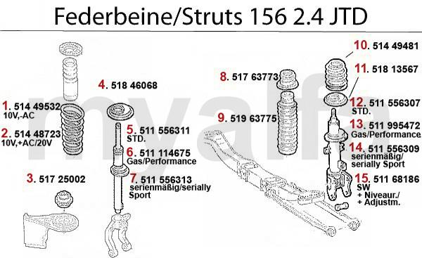 STRUT 2.4 JTD 10/20V