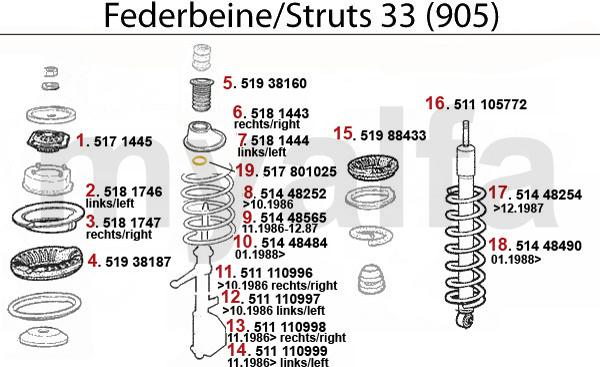 Federbein (905)