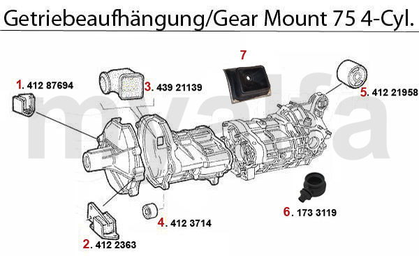 alfa romeo 75 gearbox 4