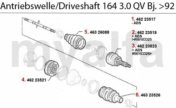 3.0 V6 QV Bj. >92
