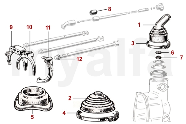 alfa romeo parts diagram