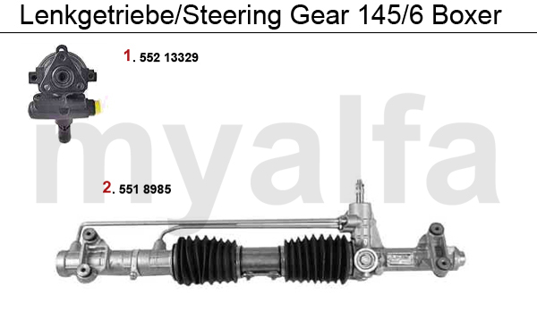 STEERING GEAR BOXER