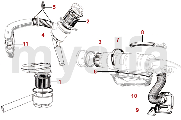 alfa romeo giulia air oil filter  air filter  u0026 fuel filter