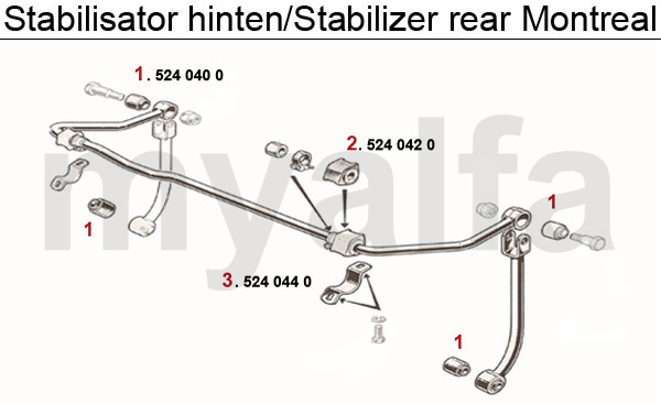 STABILIZER REAR