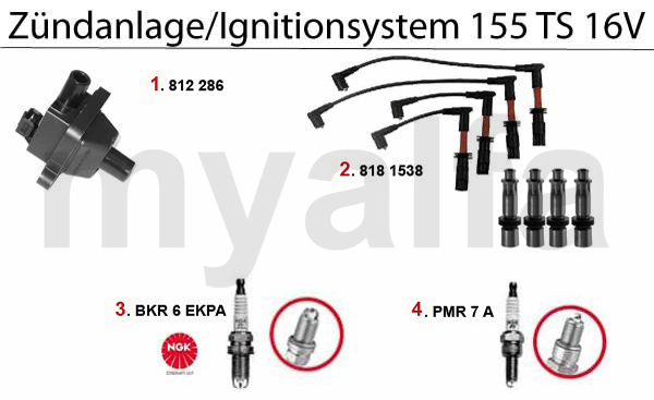 IGNITION SYSTEM TS 16V