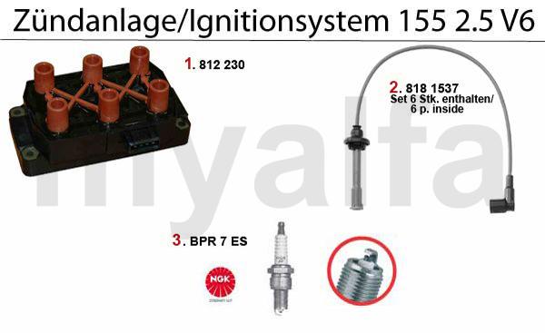 IGNITION SYSTEM 2.5 V6