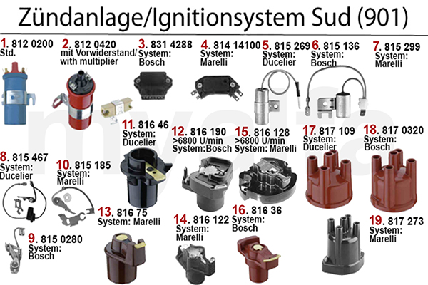 IGNITION SYSTEM Sud (901)