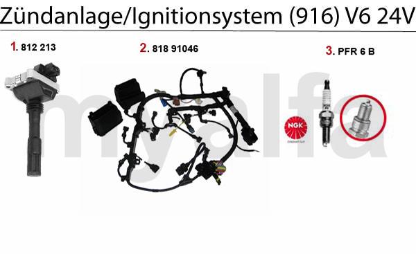 Zündanlage 3.0/3.2 V6 24V