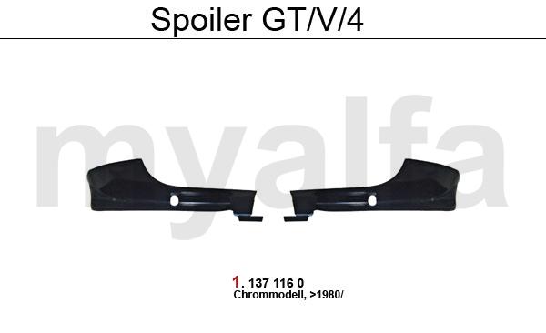 Spoiler GT/V/4