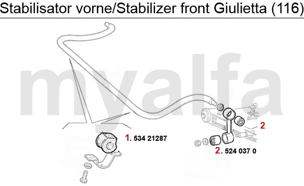 STABILIZER FRONT