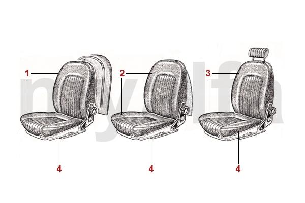 Sitzbezüge 1966-69