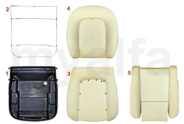 SEAT PAN/FOAM