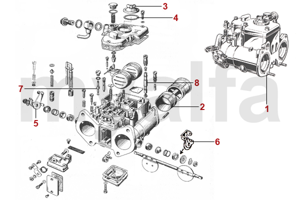 CARBURETTORS AND PARTS