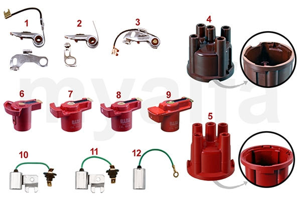 DISTRIBUTOR PARTS BOSCH