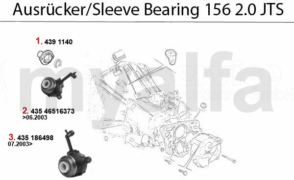SLEEVE BEARING 2.0 JTS