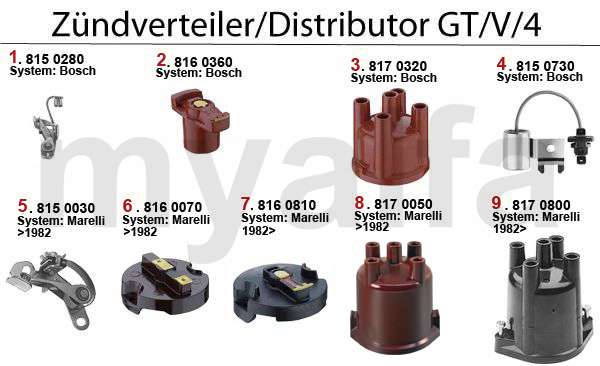 DISTRIBUTOR GT/V/4 (116)