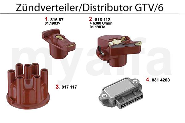 DISTRIBUTOR GTV/6 (116)