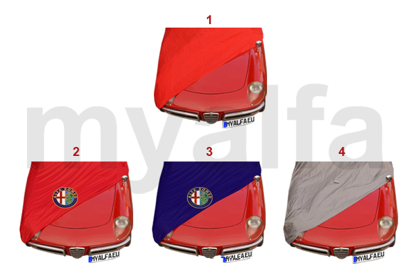 Alfa Romeo SPIDER CAR COVER - Alfa romeo spider car cover