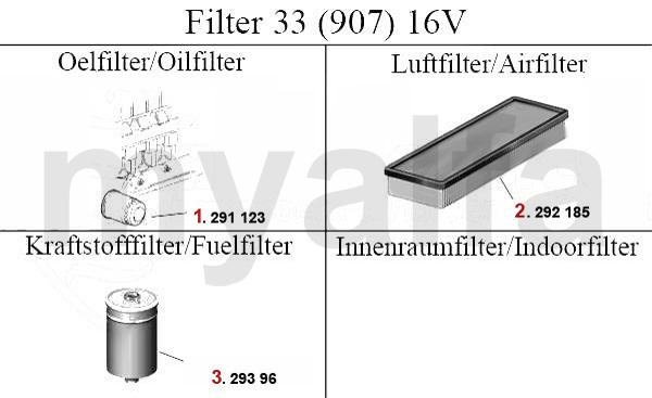 FILTER (907) 16V