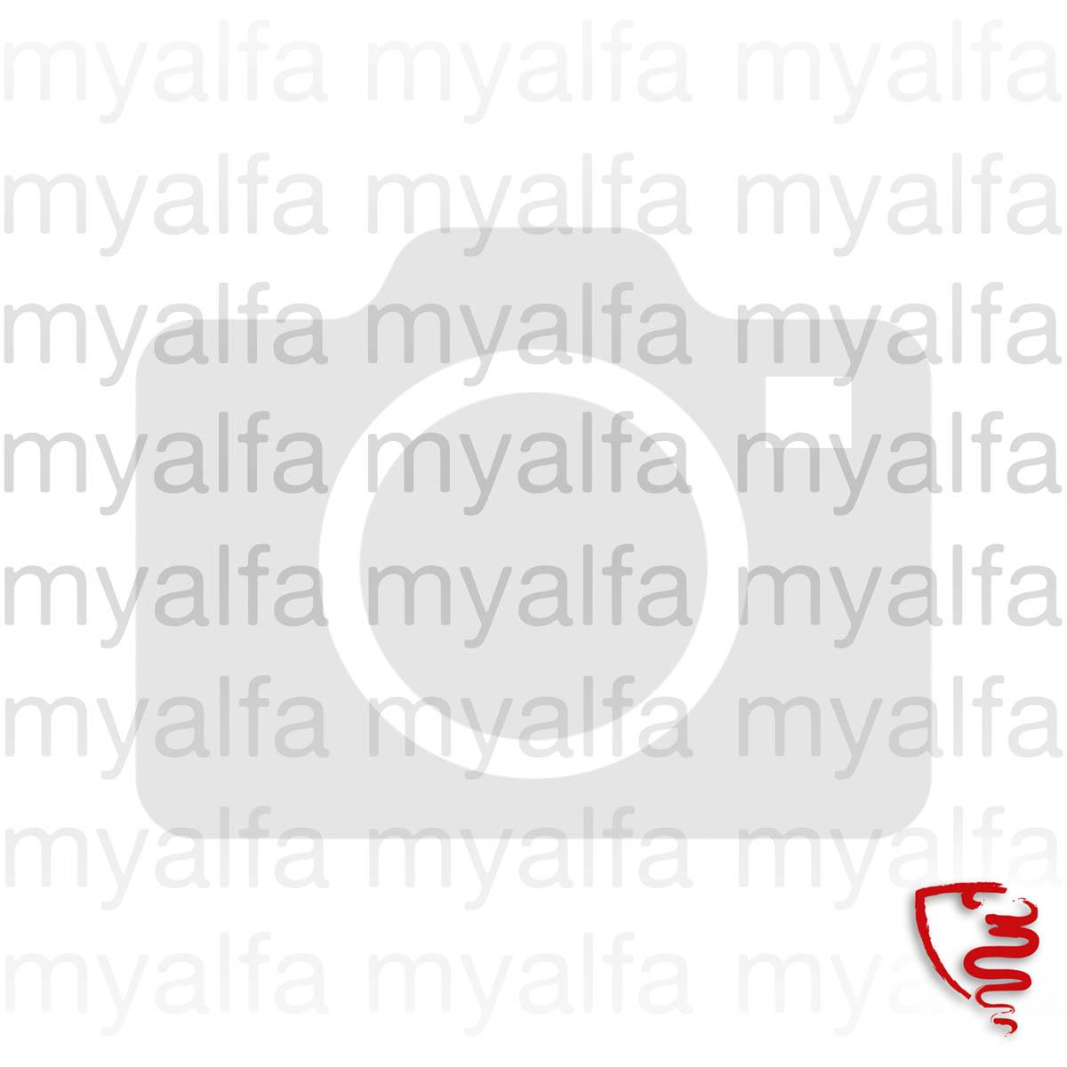 """Aufnäher """"SQUADRA MYALFA""""     9,1 X 6,5cm"""