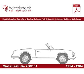 Alfa Giulietta/Giulia (750/101)
