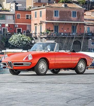 Alfa Spider (105/115) Ersatzteile